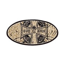 vintage cross jubilee paris scripts Patches