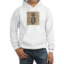 vintage cross jubilee paris scripts Hoodie Sweatsh
