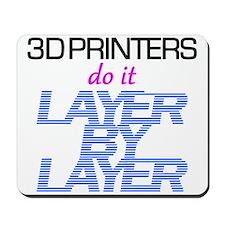 3D Printers do it... Mousepad