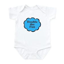Double Fun B Twins Baby Infant Bodysuit