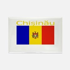 Chisinau, Moldova Rectangle Magnet
