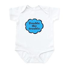 Double Trouble B Twins Baby Bodysuit