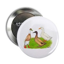 """Egg and Meat Ducks 2.25"""" Button (10 pack)"""