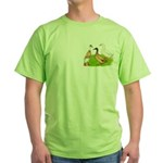 Egg and Meat Ducks Green T-Shirt