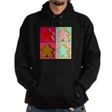 Pop Art Meeple Hoodie