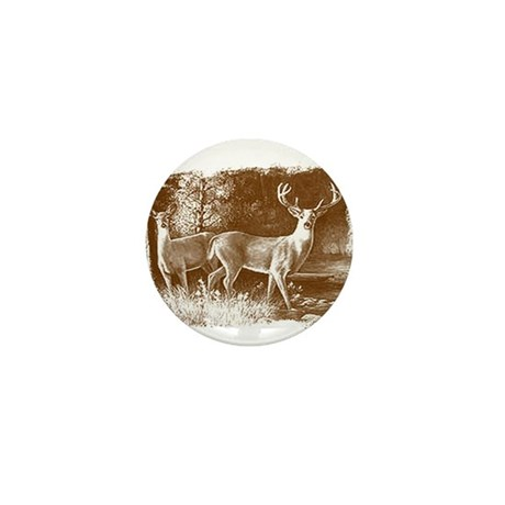 Wildlife Deers Mini Button
