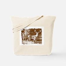 Wildlife Deers Tote Bag