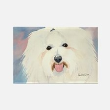 Coton de Tulear Rectangle Magnet