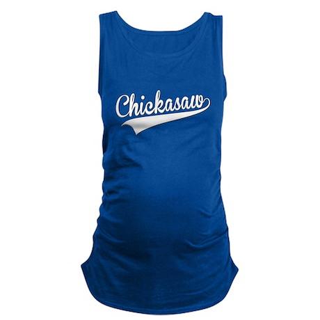 Chickasaw, Retro, Maternity Tank Top