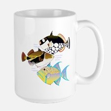 3 Triggerfish a Mugs