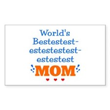 Bestest Mom Decal