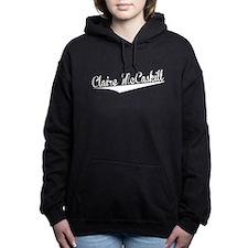 Claire McCaskill, Retro, Women's Hooded Sweatshirt