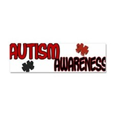 Cute Support autism awareness month Car Magnet 10 x 3