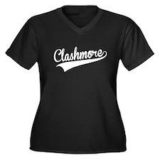 Clashmore, Retro, Plus Size T-Shirt