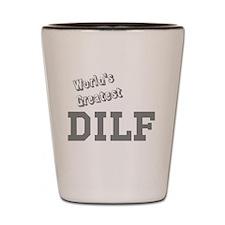 Worlds Greatest DILF Shot Glass