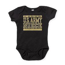 Proud U.S. Army Niece Baby Bodysuit