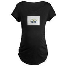 Make a Wish for Peace Maternity T-Shirt