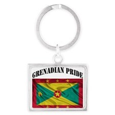 Grenadian Pride Keychains