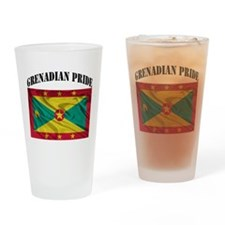 Grenadian Pride Drinking Glass