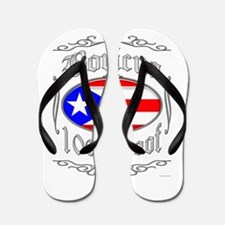 Boricua 100 Proof2 Flip Flops