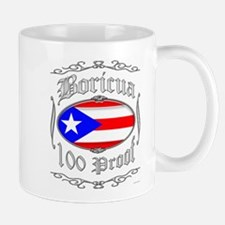 Boricua 100 Proof2 Mug