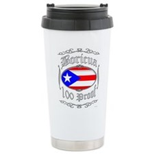 Boricua 100 Proof2 Travel Mug
