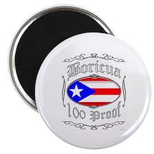 Boricua 100 Proof2 Magnet