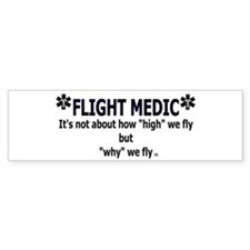 FLIGHT MEDIC Bumper Sticker