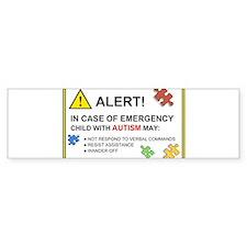 Cute Autism awareness Bumper Sticker