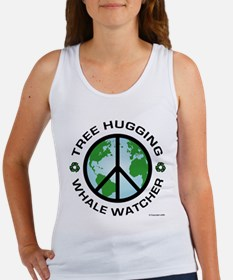 Tree Hugger, Whale Watching Women's Tank Top