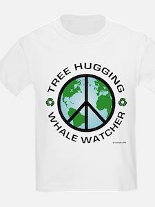 Tree Hugger, Whale Watching T-Shirt