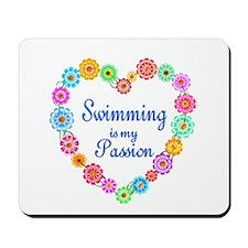 Swimming Passion Mousepad