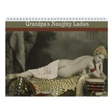 Grandpa's Naughty Ladies Wall Calendar