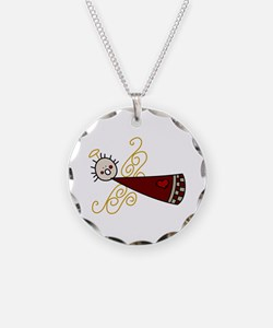Flying Angel Necklace