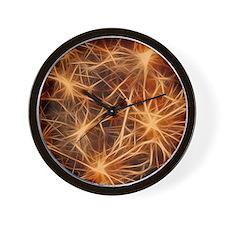 stars fractal Wall Clock