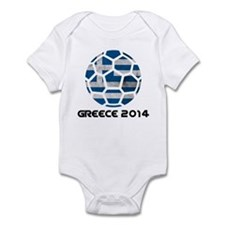 Greece World Cup 2014 Infant Bodysuit
