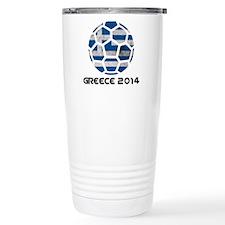 Greece World Cup 2014 Travel Mug