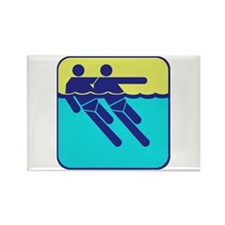 Mens Synchonized Swimming Magnets
