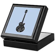Spec Guitar Keepsake Box