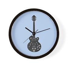 Spec Guitar Wall Clock