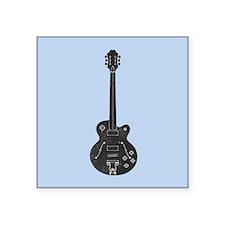 "Spec Guitar Square Sticker 3"" x 3"""