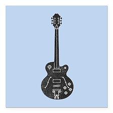 """Spec Guitar Square Car Magnet 3"""" x 3"""""""