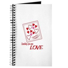 Sending You My Love Journal