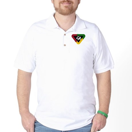 ChestEmblemCA 2 Golf Shirt