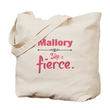Personal She Is Fierce - Mallory Tote Bag