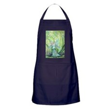 Lily of the Valley Fairy Art Apron (dark)