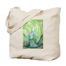 Lily of the Valley Fairy Art Tote Bag