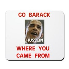 HUSSEIN OBAMA Mousepad