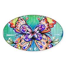 Butterfly Graffiti Decal