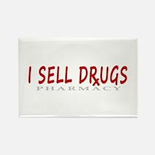 I Sell Drugs Rectangle Magnet